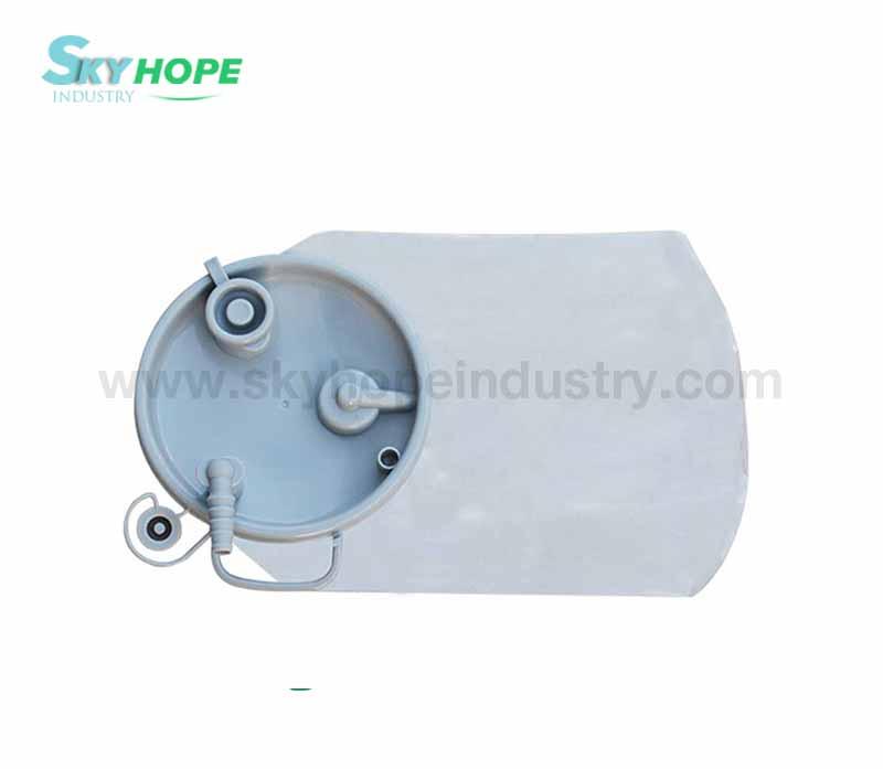 Disposable drainage bag