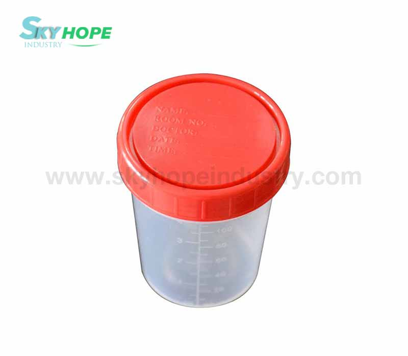 Medical urine cup