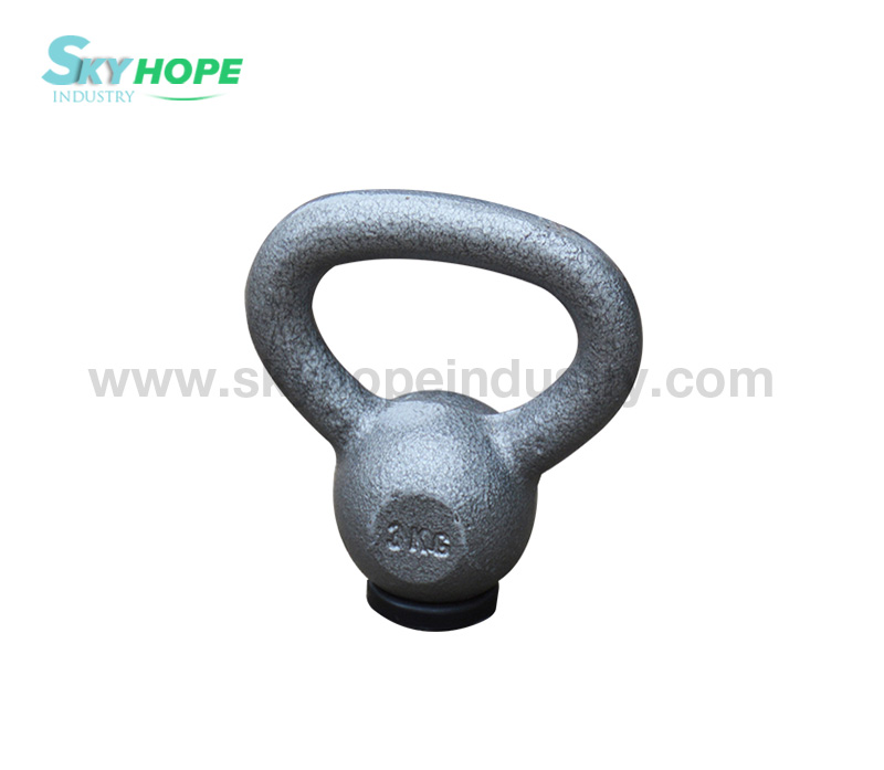 Black Painted Kettlebell