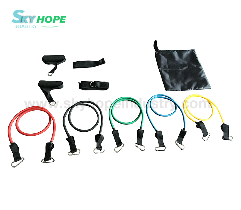Resistance Band Tubing Set