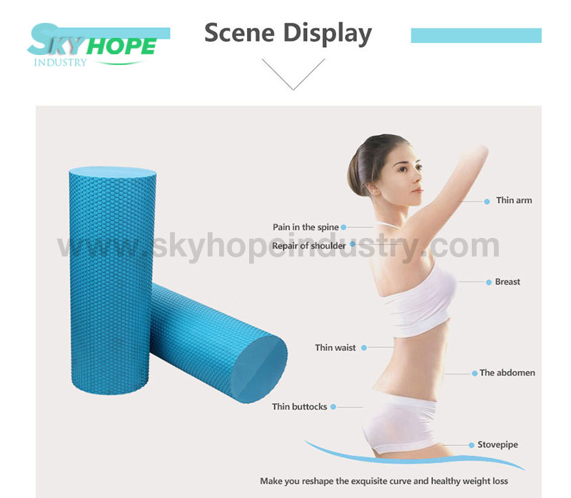 Yoga Roller, Eva Foam Yoga Pillar, Exercise Stick